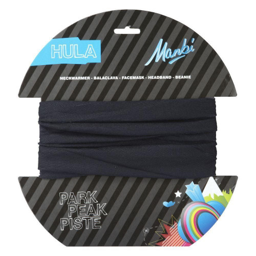 Manbi Hula Plain Adult Neck Warmer Black