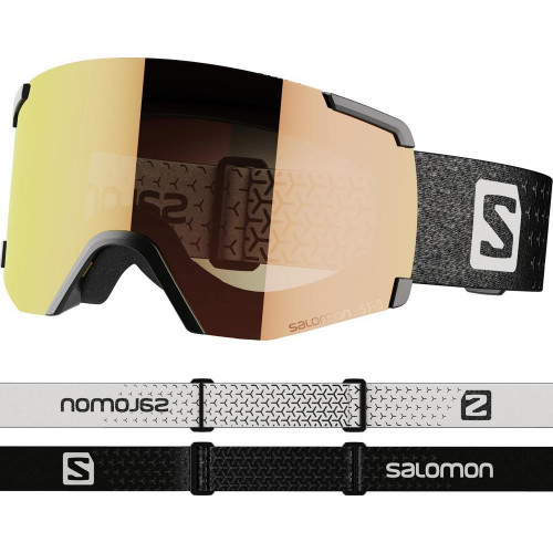 Salomon S/VIEW Photo Goggles Black - All Weather Red Lens