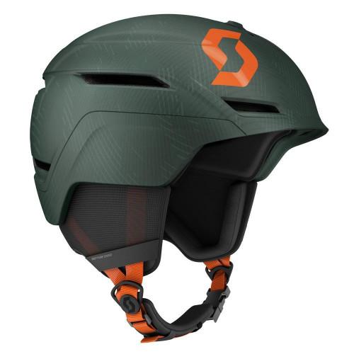 Scott Symbol 2 Plus MIPS Ski + Snowboard Helmet Sombre Green/Pumpkin Orange