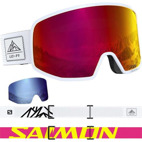 Salomon LO FI SIGMA Goggles White/Black + 1Xtra Lens