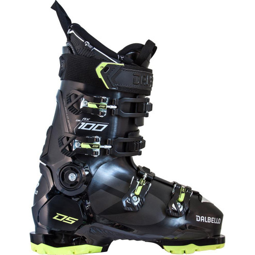 Dalbello DS AX 100 GW Mens Ski Boots 2021 Black/Acid Green