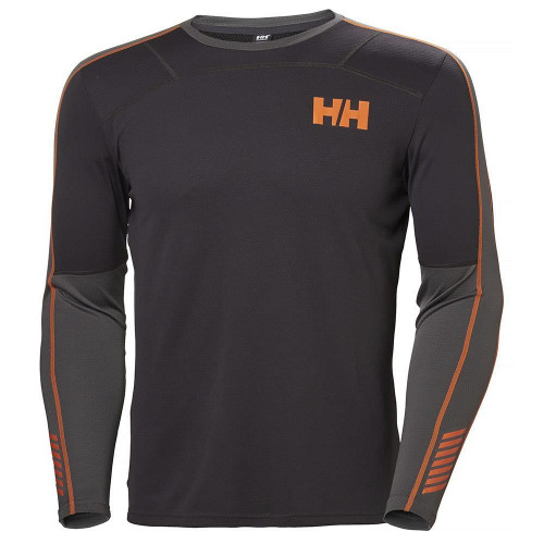 Helly Hansen Mens Lifa Active Crew Baselayer Ebony