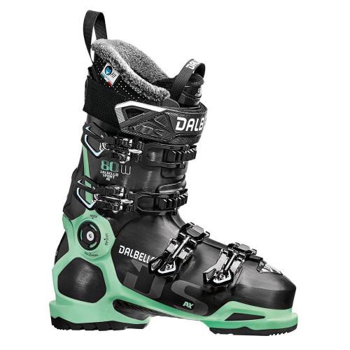 Dalbello DS AX 80 W 2019 Womens Ski Boots Black / Glacier Blue