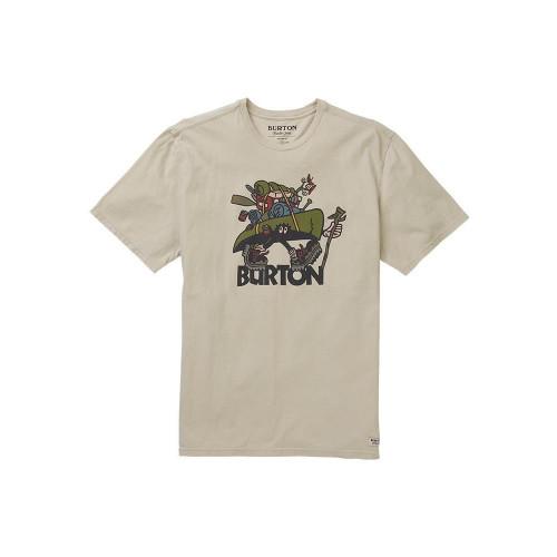 Burton Mens Bronn SS T-Shirt Pelican