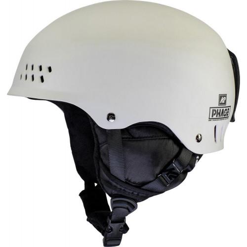 K2 Phase Pro Ski + Snowboard Helmet Stone