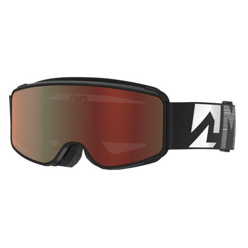 Marker Squadron Junior Goggles Black - Surround Mirror Lens