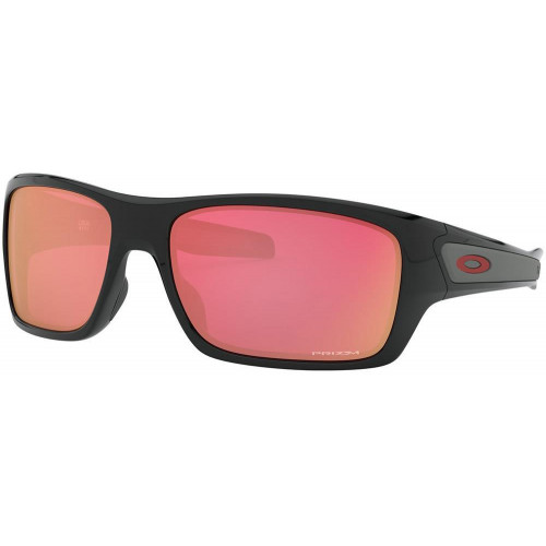 Oakley Turbine Sunglasses Polished Black - PRIZM Snow Torch Lens