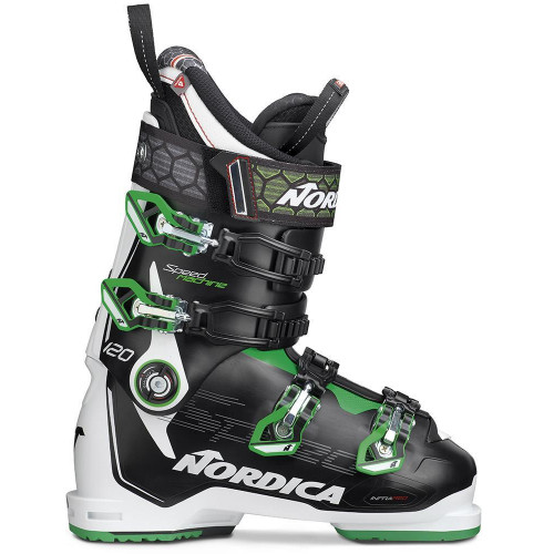 Nordica Speedmachine 120 Mens Ski Boots Black/White/Green 2020