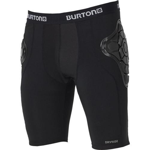 Burton Mens Total Impact Shorts True Black