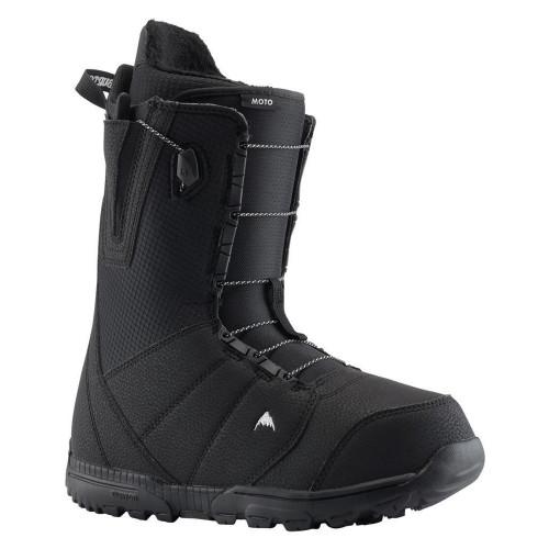Burton Moto Mens Snowboard Boots Black 2021