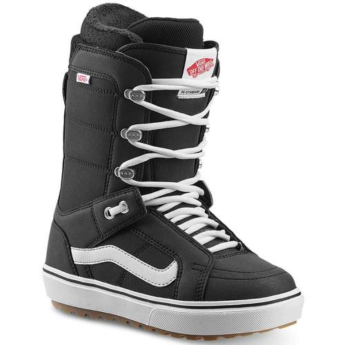 Vans Hi-Standard OG Womens Snowboard Boots Black/White 2020