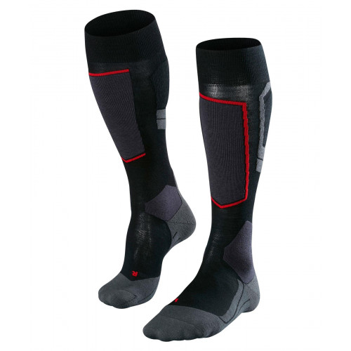 Falke SK4 Wool Mens Ski Socks Black-Mix