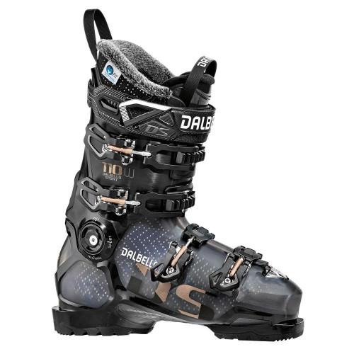 Dalbello DS 110 W Womens Ski Boots 2020 Black Translucent/Black