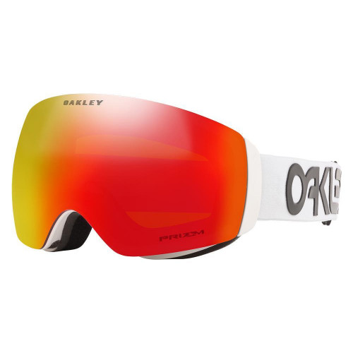 Oakley Flight Deck XM Goggles Factory Pilot White-Prizm Snow Torch Lens