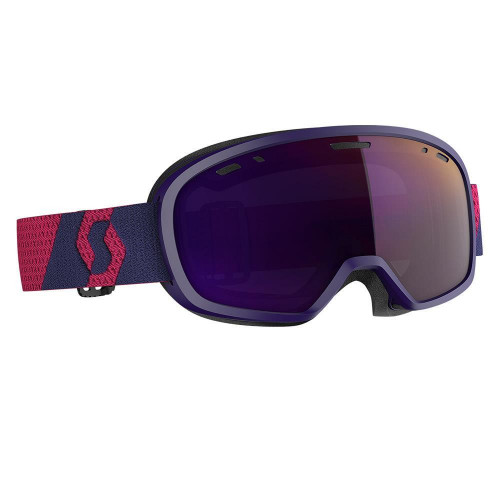 Scott Muse Pro Womens Goggles Deep Violet - Enhancer Purple Chrome