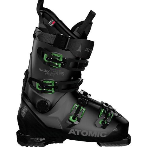Atomic Hawx Prime 130 S Mens Ski Boots 2021 Black/Green