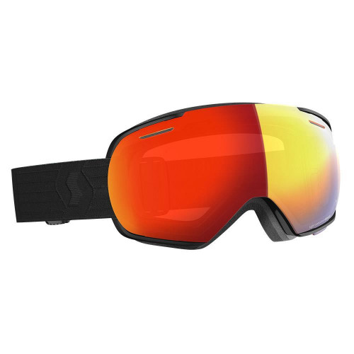 Scott Linx LS Goggles Black - Light Sensitive Red Chrome Lens