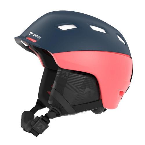 Marker Ampire Womens Ski + Snowboard Helmet Blue/Coral