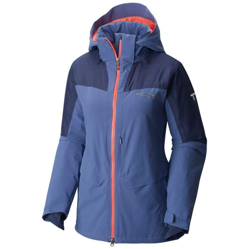 Columbia Carvin Womens Jacket 2017 Bluebell / Nocturnal