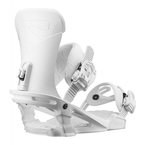 Salomon Trigger 2019 Snowboard Bindings White