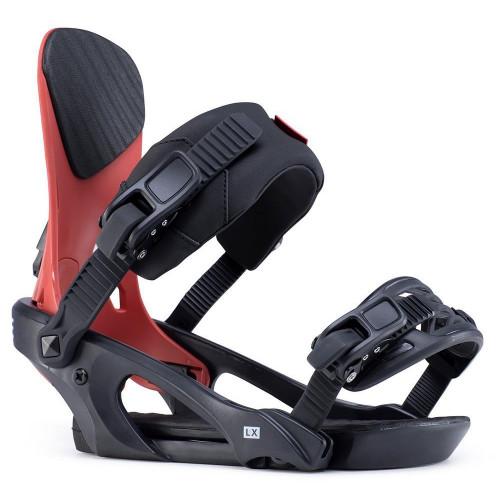 Ride LX Mens Snowboard Bindings Brick 2020
