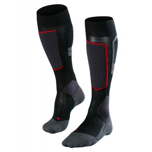 Falke SK4 Wool Womens Ski Socks Black-Mix