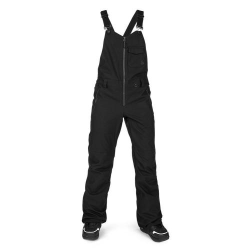 Volcom Swift Bib Overall Women's Pants Black
