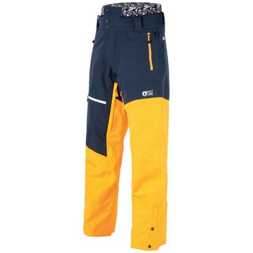Picture Alpin Mens Pants Dark Blue Yellow 2020