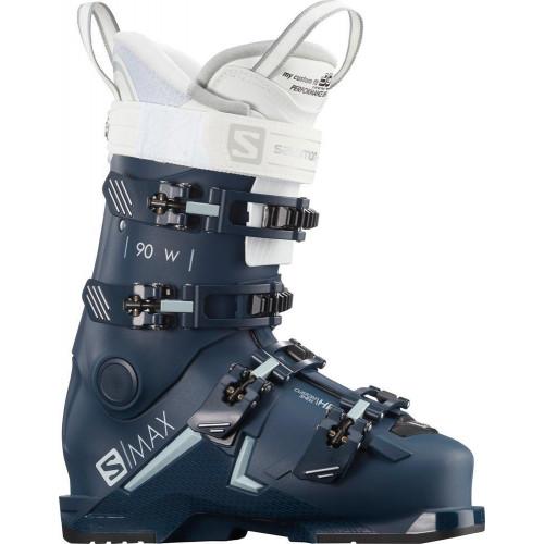 Salomon S/MAX 90 W Womens Ski Boots 2021 Petrol Blue/Sterling