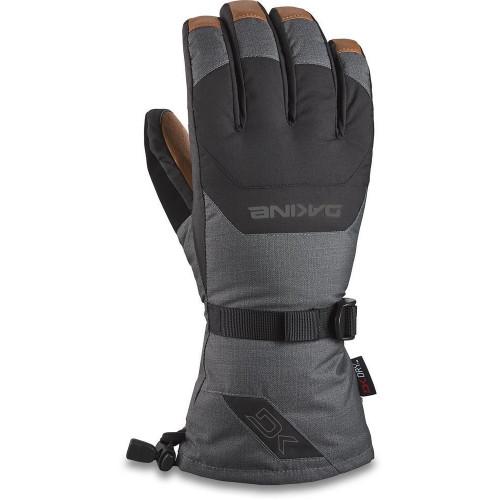 Dakine Leather Scout Mens Gloves Carbon