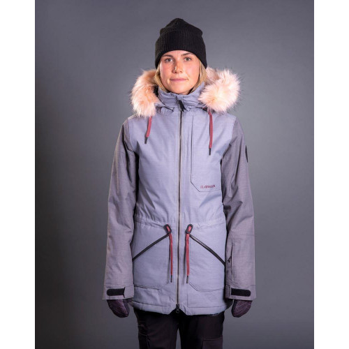 Armada Lynx Insulated Womens Jacket Shark Skin