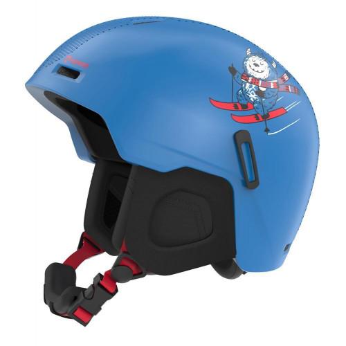 Marker Bino Junior Ski + Snowboard Helmet Blue/Water Decal