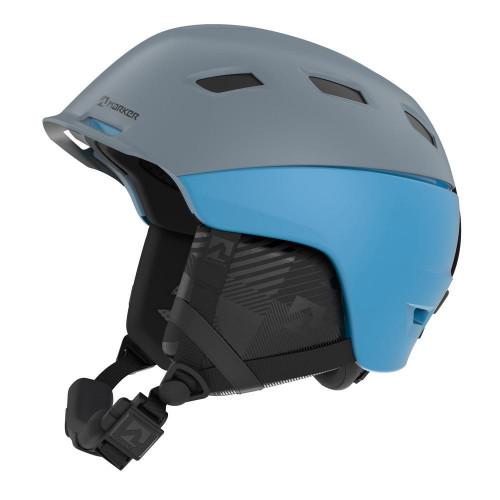 Marker Ampire Unisex Ski + Snowboard Helmet Gray/Light Blue