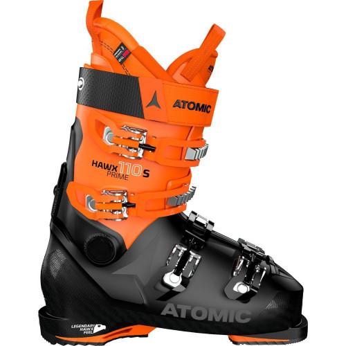 Atomic Hawx Prime 110 S Mens Ski Boots 2021 Black/Orange