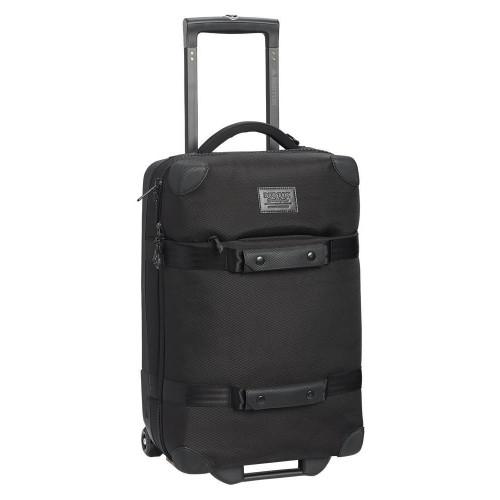 Burton Wheelie Flight Deck 38L Travel Bag True Black Ballistic