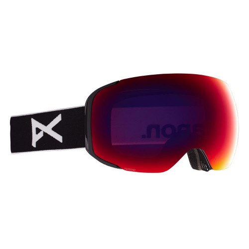 Anon M2 MFI Goggles Black - Perceive Sunny Red + Cloudy Burst Spare Lens