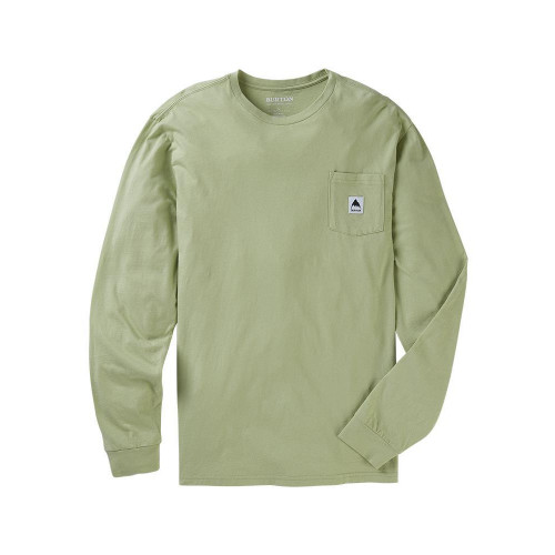 Burton Men's Colfax LS T-Shirt Sage Green