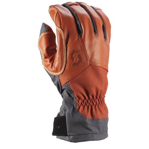 Scott Explorair Tech Gloves 2019 Dark Grey / Burnt Orange