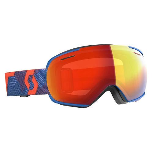 Scott Linx Goggles Orange/ Blue - Enhancer Red Chrome Lens