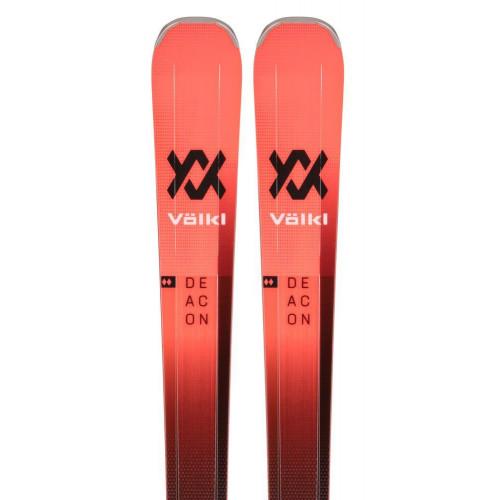 Volkl Deacon 80 2021 Skis + Lowride XL 13 FR D GW Bindings