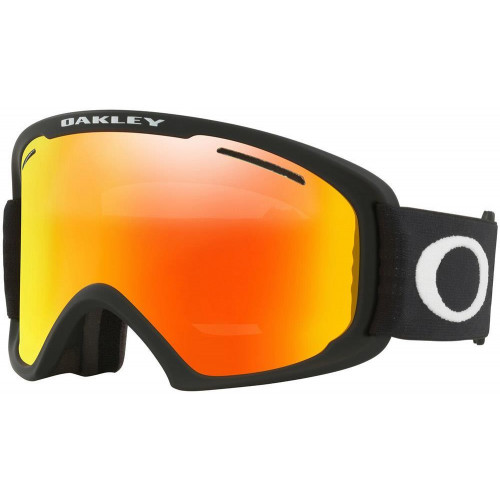 Oakley O-Frame 2.0 Pro XL Goggles Matt Black -Fire Iridium + Persimmon Lens