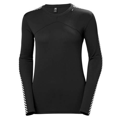 Helly Hansen Womens Lifa Crew Baselayer Black