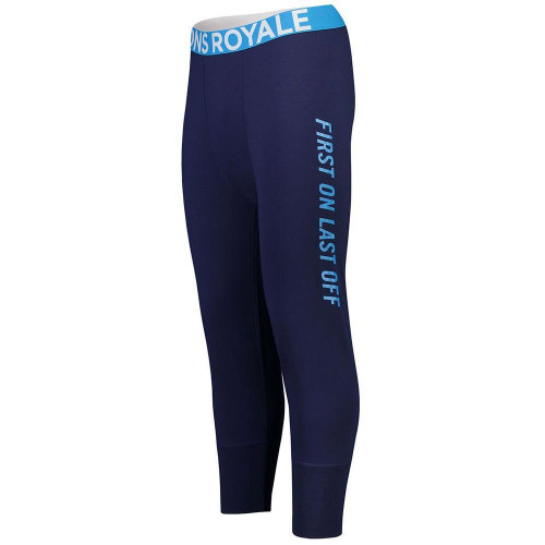 Mons Royale Mens Shaun-off 3/4 Merino Legging Navy