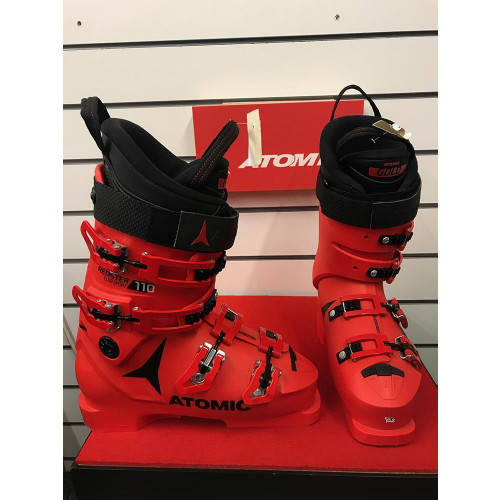 Atomic Redster Club Sport 110 2018 Ski Boots Red 25/25.5 - Ex Display Model