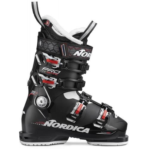 Nordica Pro Machine 95 W Womens Ski Boots Black/Black/Pearl 2020