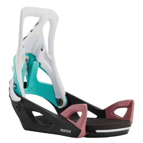 Burton Step On Womens Snowboard Bindings Black/Multi/Graphix 2021