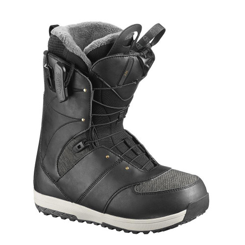 Salomon Ivy 2019 Womens Snowboard Boots Black