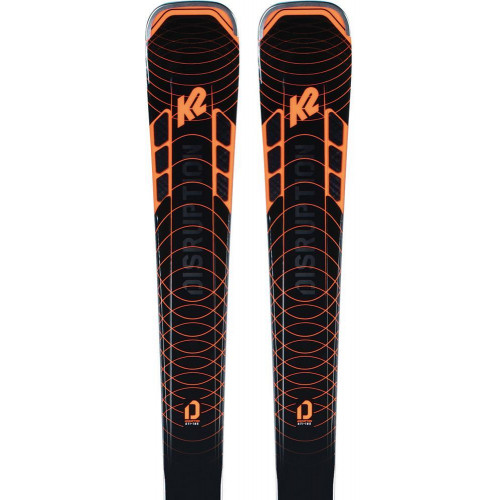 K2 Disruption STI 2021 Skis + MXC 12 TCx QC Bindings