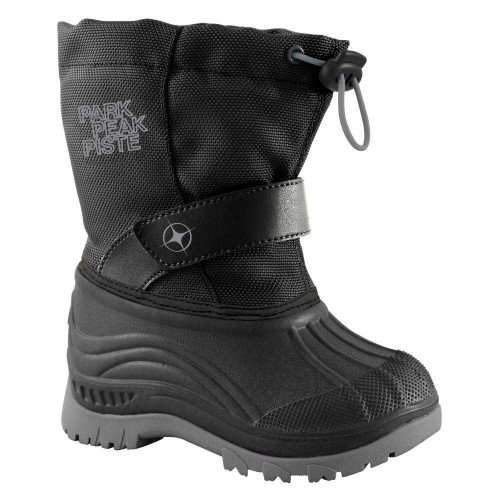 Manbi Explore Junior Snow Boots Black/Silver
