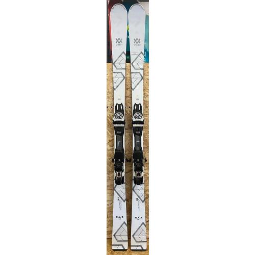 Volkl Flair SC 2020 Womens Ex-Demo Skis + VMotion 11 GW Lady Bindings 163cm (2)